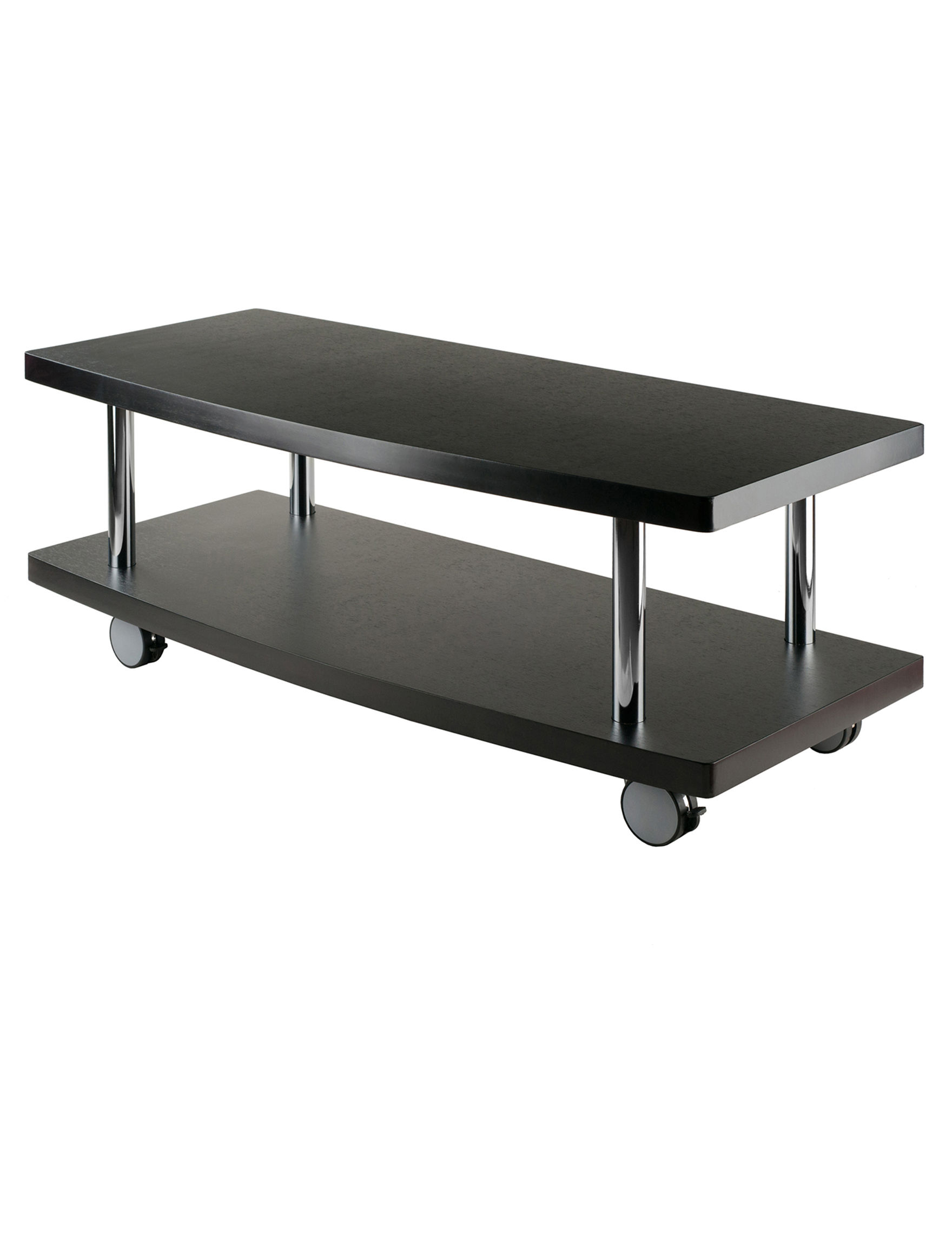 Winsome Espresso TV Stands & Entertainment Centers Living Room Furniture