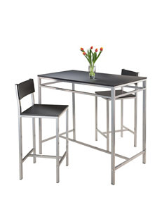 Winsome Black Dining Room Sets Kitchen & Dining Furniture