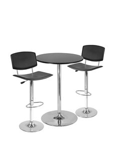 Winsome 3-pc. Spectrum Pub Table & Stool Set