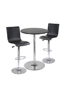 Winsome 3-pc. Spectrum Table & Stool Set
