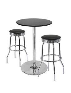 Winsome 3-pc. Summit Retro Pub Table & Stool Set
