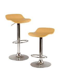 Winsome Kallie Set of 2 Airlift Stools