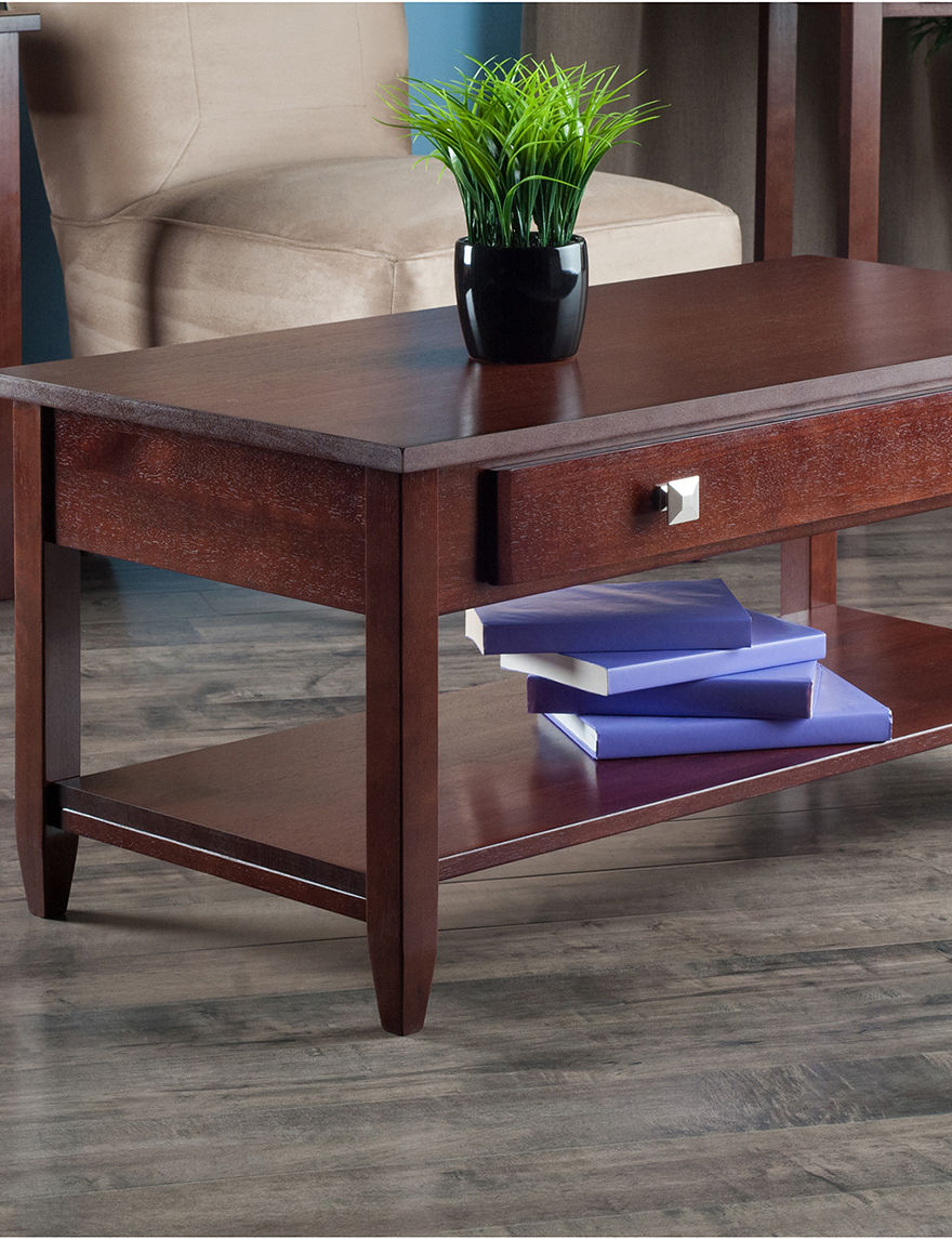 Winsome Brown Coffee Tables Living Room Furniture