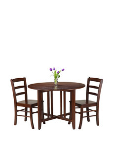 Winsome Dark Brown Dining Room Sets Kitchen & Dining Furniture