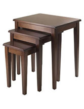 Winsome 3-pc. Regalia Nesting Table Set