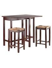 Winsome 3-pc. Lynnwood Drop Leaf Table Set