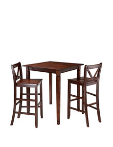 Winsome 3-pc. Kingsgate Dining High Table Set