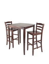 Winsome 3-pc. Inglewood High Table Dining Set