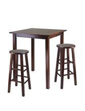 Winsome 3-pc. Parkland High Table Set