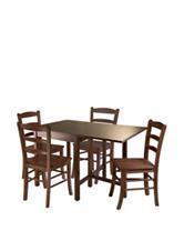 Winsome 5-pc. Lynden Drop Leaf Dining Room Set