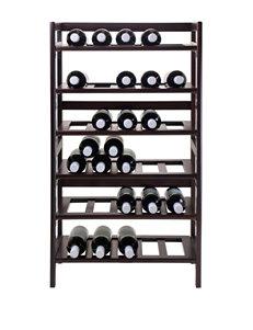 Winsome Brown Wine Racks Living Room Furniture