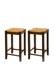 Winsome Brown Bar & Kitchen Stools Kitchen & Dining Furniture