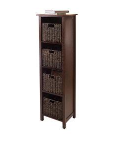 Winsome Wood 5-pc. Granville Storage Shelf Set