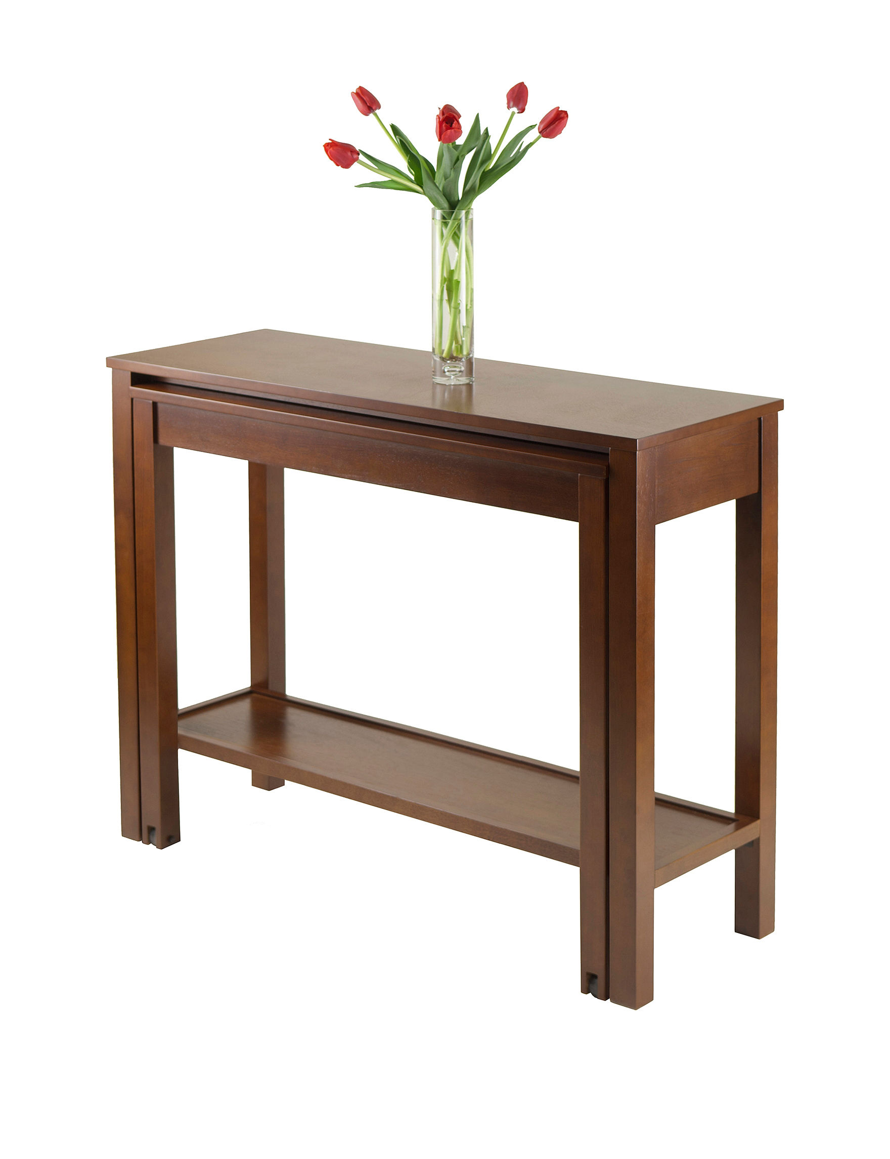Winsome Brown TV Stands & Entertainment Centers Living Room Furniture