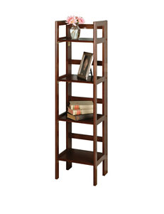 Winsome Brown Bookcases & Shelves Living Room Furniture