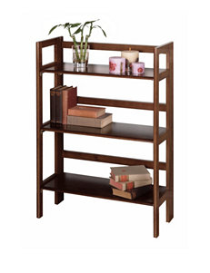 Winsome Brown Bookcases & Shelves Home Office Furniture