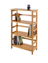 Winsome Wood 3-Tier Studio Bookshelf