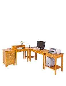 Winsome Brown Desks Home Office Furniture
