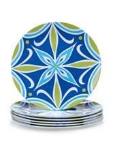 Certified International 6-pc. Mediterranean Melamine Salad Plate Set