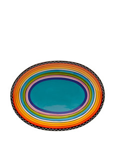 Certified International Tequila Sunrise Oval Platter