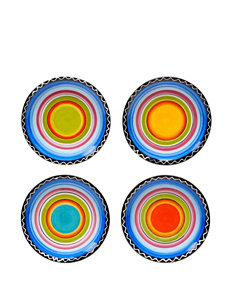 Certified International 4-pc. Tequila Sunrise Canapé Plate Set