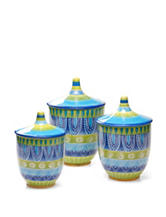 Certified International 3-pc. Tapas Canister Set
