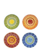 Certified International 4-pc. Assorted Tapas Dinner Plate Set