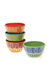 Certified International 4-pc. Assorted Tapas Ice Cream Bowl Set