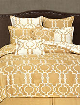 Home Fashions International Gold Grid iron 8pc Set