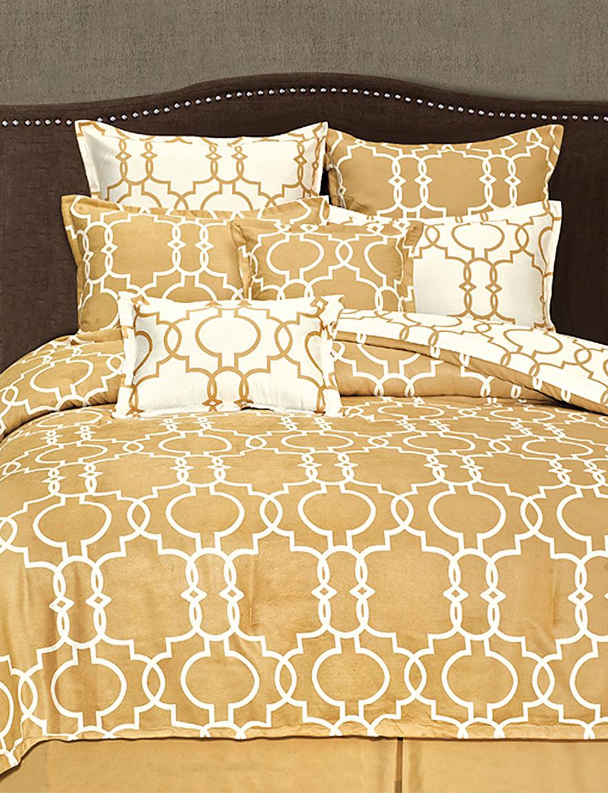 Home Fashions International Gold Comforters & Comforter Sets
