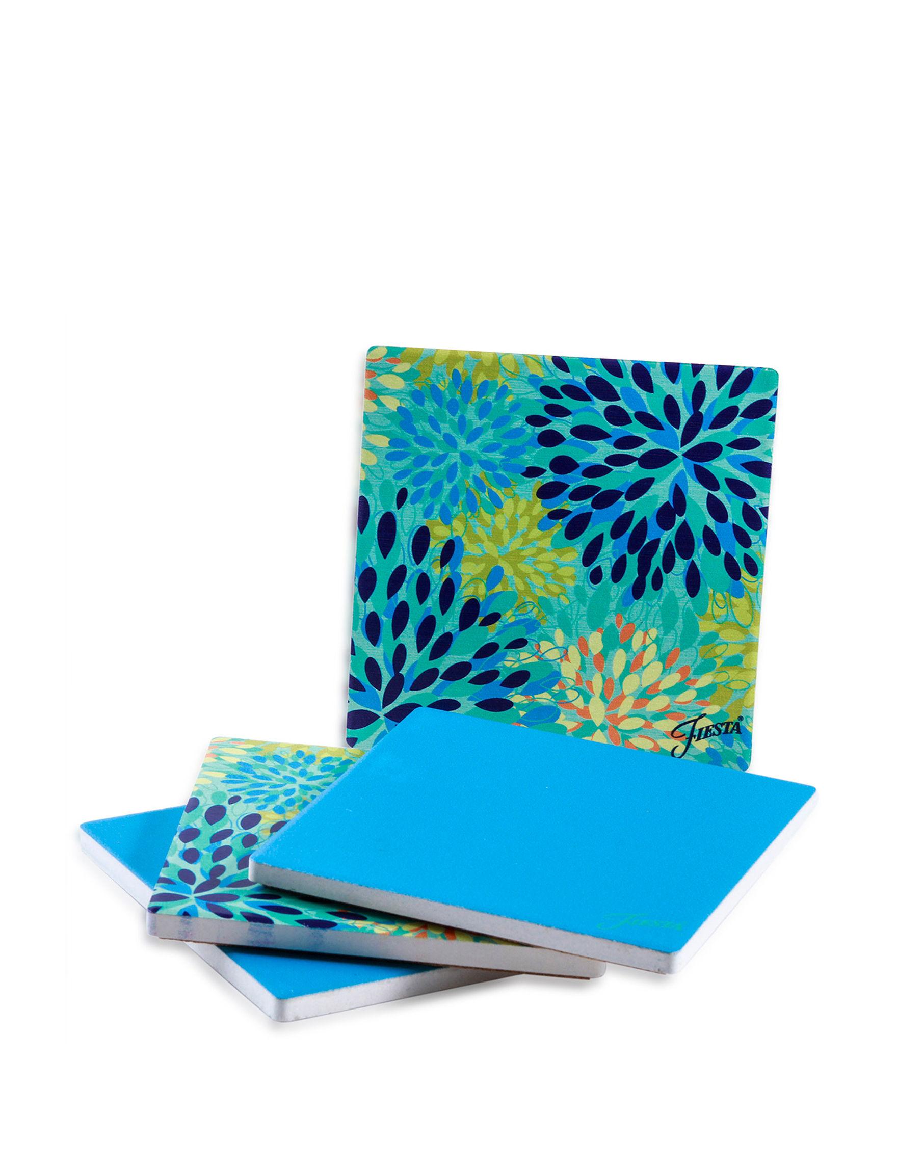 Fiesta Blue Coasters