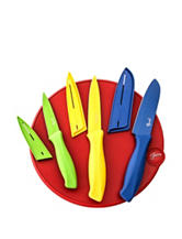 Fiesta® 7-pc. Scarlet Cutting Board & Knife Set
