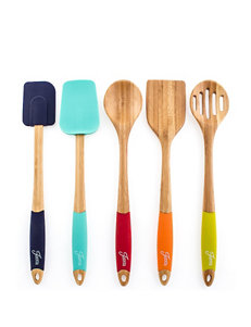 Fiesta® 5-pc. Bamboo Silicone Utensil Set