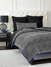 Vince Camuto Milan Abstract Lace Printed Coverlet