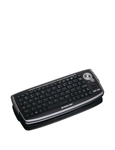 Iogear 2.4GHz Wireless Compact Keyboard With Optical Trackball & Scroll Wheel