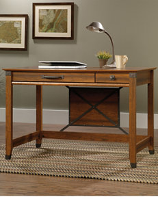 Sauder Carson Forge Washington Cherry Writing Desk