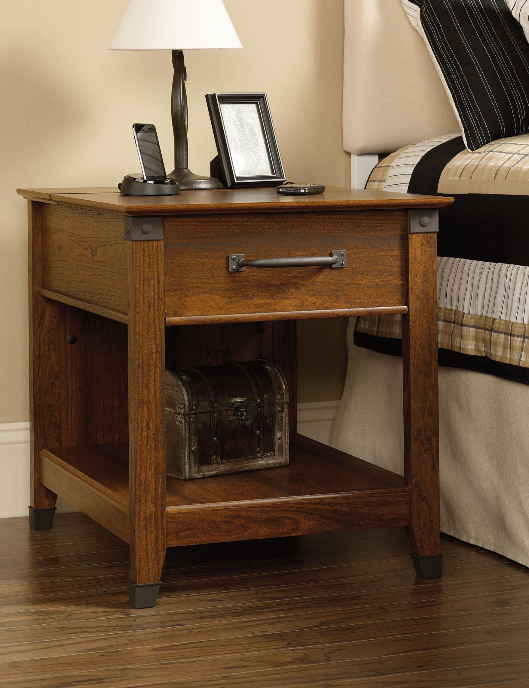 Sauder Brown Accent & End Tables Living Room Furniture