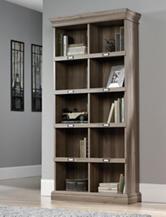 Sauder Barrister Lane Salt Oak Tall Bookcase