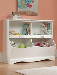 Sauder Off White Bookcases & Shelves Living Room Furniture