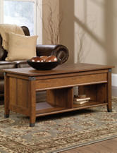 Sauder Carson Forge Washington Cherry Lift-Top Coffee Table