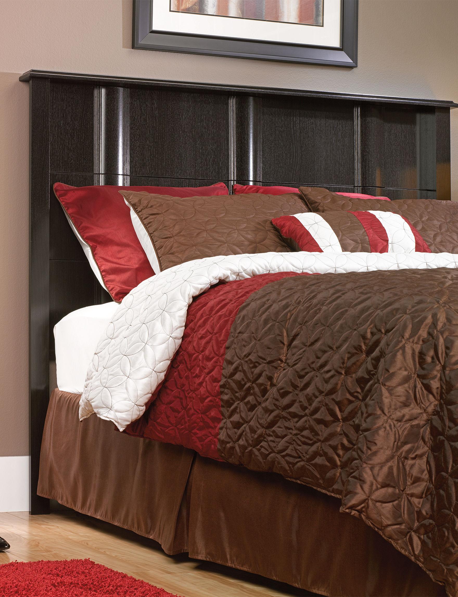 Sauder Espresso Beds & Headboards Bedroom Furniture