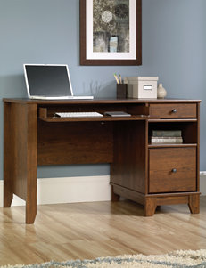Sauder Camarin Milled Cherry Computer Desk