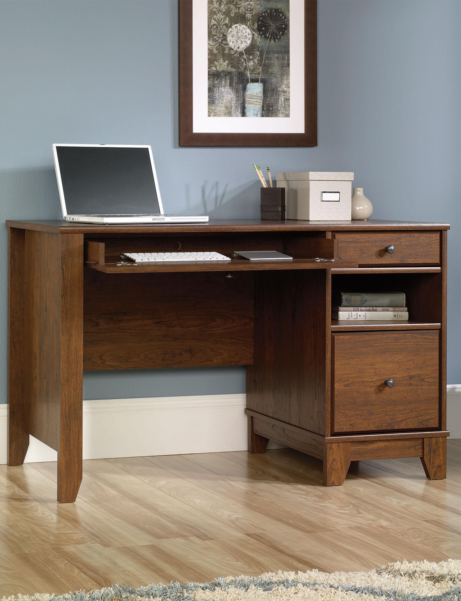 Sauder Camarin Milled Cherry puter Desk