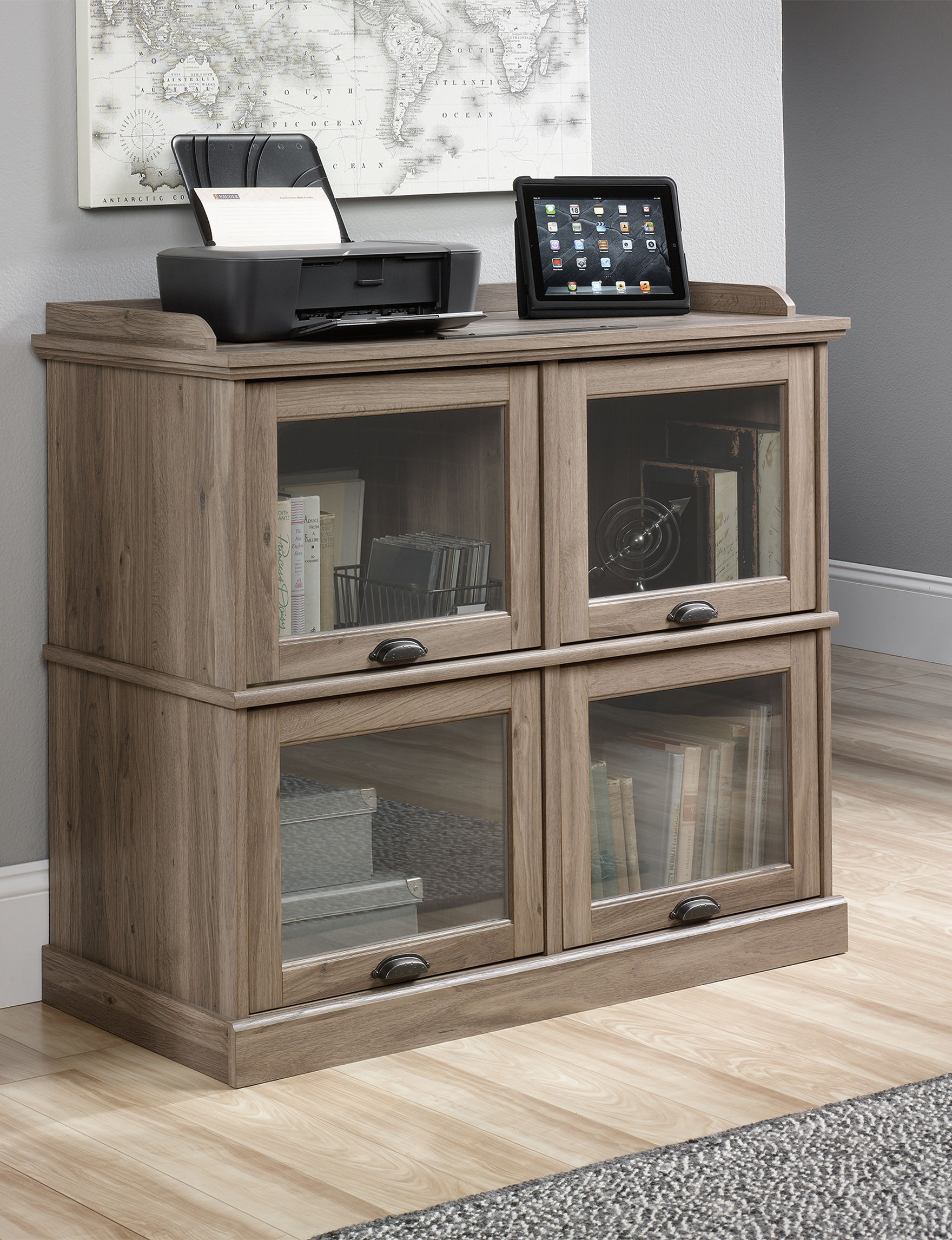 Sauder Beige TV Stands & Entertainment Centers Living Room Furniture