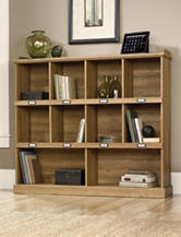 Sauder Barrister Lane Scribed Oak Bookcase