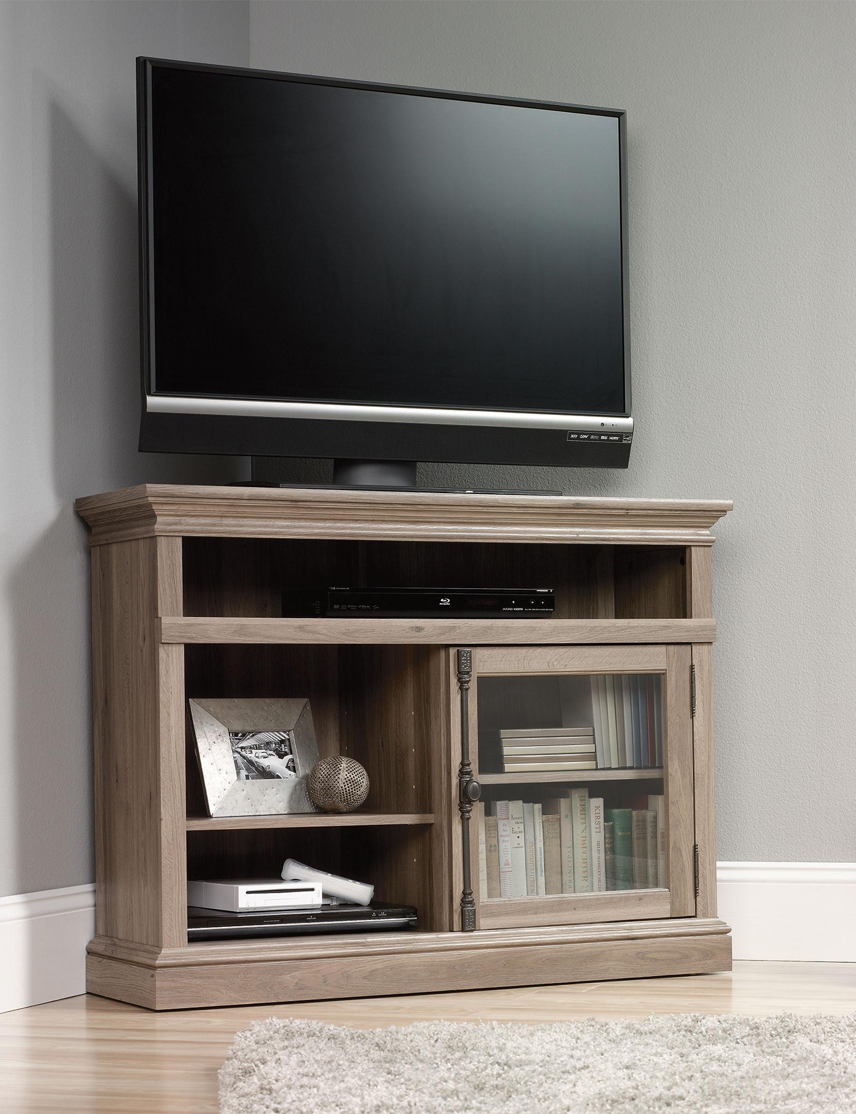 Sauder Beige TV Stands & Entertainment Centers Living Room Furniture