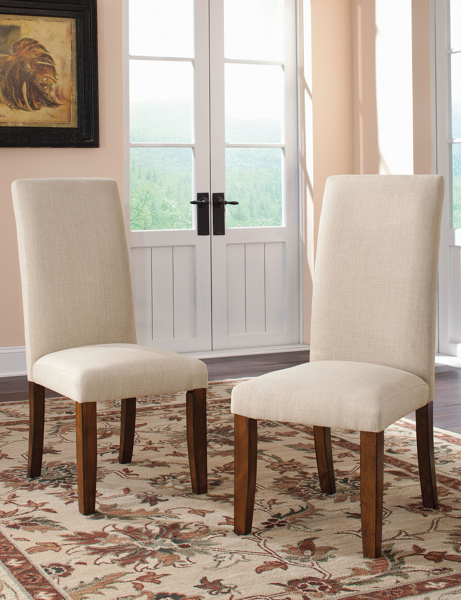 Sauder Brown Accent Chairs Living Room Furniture