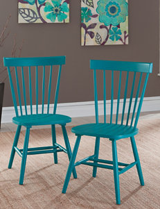 Sauder Teal Dining Chairs Kitchen & Dining Furniture