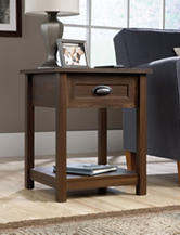 Sauder County Line Rum Walnut Night Stand