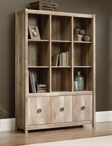 Sauder Khaki Bookcases & Shelves Living Room Furniture